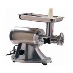 12 MEAT GRINDER 1 HP. (STAINLESS STEEL BODY & MEAT PAN)