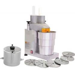 FOOD PROCESSOR WITH 6 DISKS